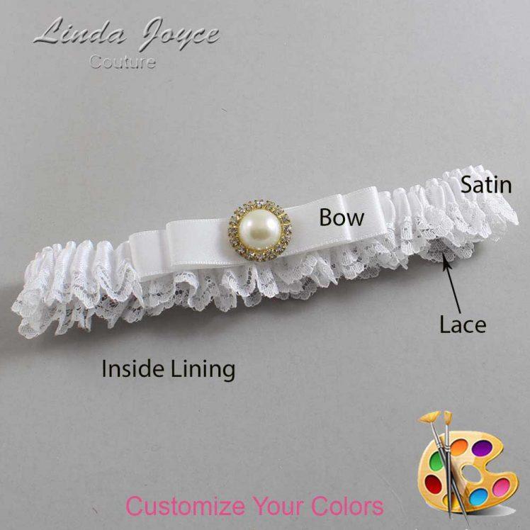 Couture Garters / Custom Wedding Garter / Customizable Wedding Garters / Personalized Wedding Garters / Jade #09-B20-M21 / Wedding Garters / Bridal Garter / Prom Garter / Linda Joyce Couture
