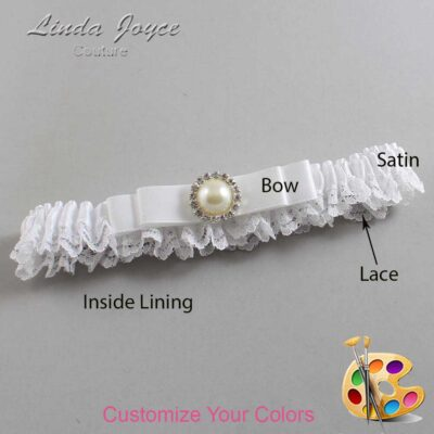 Couture Garters / Custom Wedding Garter / Customizable Wedding Garters / Personalized Wedding Garters / Jade #09-B20-M22 / Wedding Garters / Bridal Garter / Prom Garter / Linda Joyce Couture