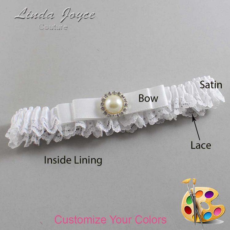 Couture Garters / Custom Wedding Garter / Customizable Wedding Garters / Personalized Wedding Garters / Jade #09-B20-M22 / Wedding Garters / Bridal Garter / Prom Garter / Linda Joyce Couture