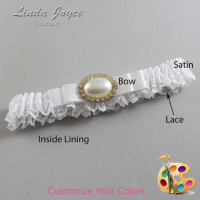 Couture Garters / Custom Wedding Garter / Customizable Wedding Garters / Personalized Wedding Garters / Martha #09-B20-M28 / Wedding Garters / Bridal Garter / Prom Garter / Linda Joyce Couture