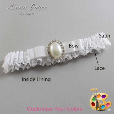 Couture Garters / Custom Wedding Garter / Customizable Wedding Garters / Personalized Wedding Garters / Molly #09-B20-M31 / Wedding Garters / Bridal Garter / Prom Garter / Linda Joyce Couture