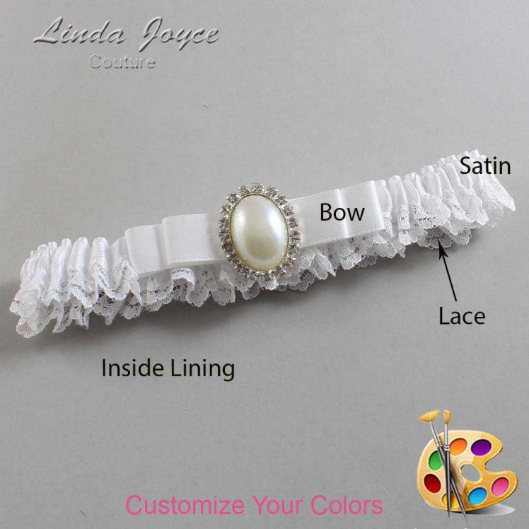 Couture Garters / Custom Wedding Garter / Customizable Wedding Garters / Personalized Wedding Garters / Molly #09-B20-M31 / Wedding Garters / Bridal Garter / Prom Garter / Linda Joyce Couture