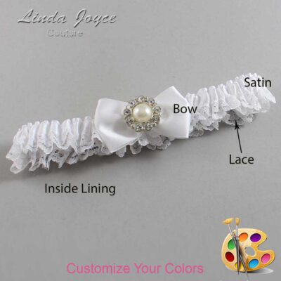 Couture Garters / Custom Wedding Garter / Customizable Wedding Garters / Personalized Wedding Garters / Ashlynn #09-B21-M24 / Wedding Garters / Bridal Garter / Prom Garter / Linda Joyce Couture