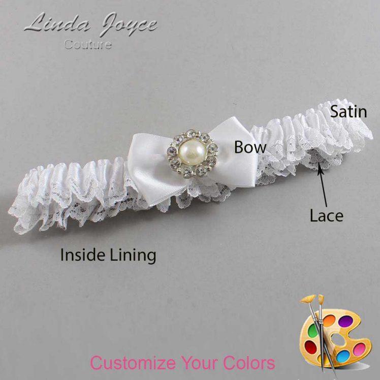 Couture Garters / Custom Wedding Garter / Customizable Wedding Garters / Personalized Wedding Garters / Ashlynn #09-B21-M24 / Wedding Garters / Bridal Garter / Prom Garter / Linda Joyce Couture