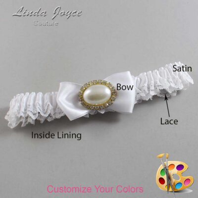 Couture Garters / Custom Wedding Garter / Customizable Wedding Garters / Personalized Wedding Garters / Juliette #09-B31-M28 / Wedding Garters / Bridal Garter / Prom Garter / Linda Joyce Couture
