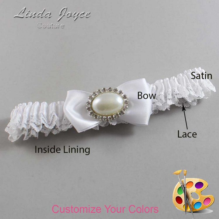 Couture Garters / Custom Wedding Garter / Customizable Wedding Garters / Personalized Wedding Garters / Juliette #09-B31-M30 / Wedding Garters / Bridal Garter / Prom Garter / Linda Joyce Couture