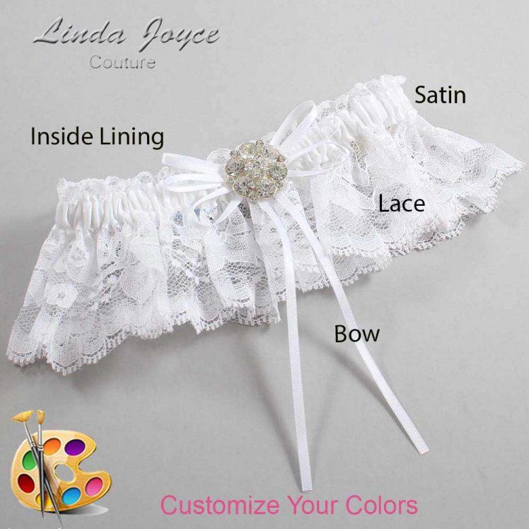 Couture Garters / Custom Wedding Garter / Customizable Wedding Garters / Personalized Wedding Garters / Amber #10-B10-M11 / Wedding Garters / Bridal Garter / Prom Garter / Linda Joyce Couture