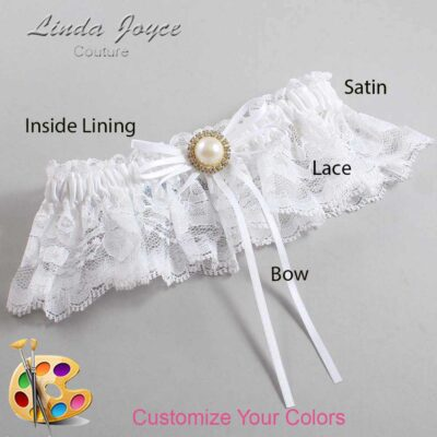 Couture Garters / Custom Wedding Garter / Customizable Wedding Garters / Personalized Wedding Garters / Faith #10-B10-M21 / Wedding Garters / Bridal Garter / Prom Garter / Linda Joyce Couture
