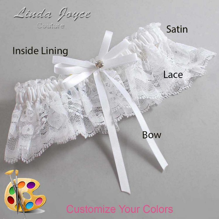 Couture Garters / Custom Wedding Garter / Customizable Wedding Garters / Personalized Wedding Garters / Audry #10-B11-M04 / Wedding Garters / Bridal Garter / Prom Garter / Linda Joyce Couture