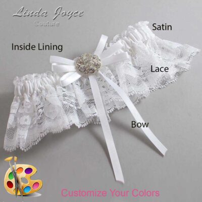 Couture Garters / Custom Wedding Garter / Customizable Wedding Garters / Personalized Wedding Garters / Autumn #10-B11-M11 / Wedding Garters / Bridal Garter / Prom Garter / Linda Joyce Couture