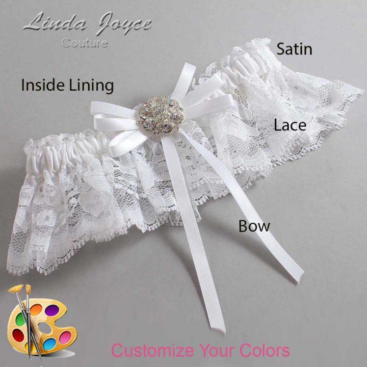 Couture Garters / Custom Wedding Garter / Customizable Wedding Garters / Personalized Wedding Garters / Autumn #10-B11-M11 / Wedding Garters / Bridal Garter / Prom Garter / Linda Joyce Couture