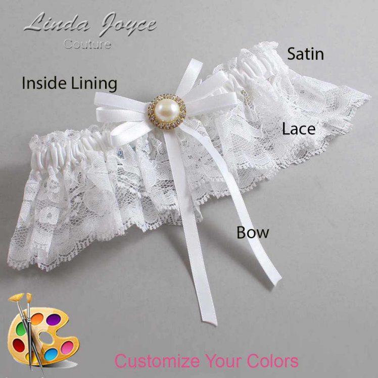 Couture Garters / Custom Wedding Garter / Customizable Wedding Garters / Personalized Wedding Garters / Delta #10-B11-M21 / Wedding Garters / Bridal Garter / Prom Garter / Linda Joyce Couture