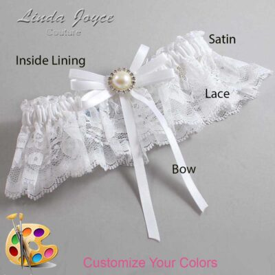 Couture Garters / Custom Wedding Garter / Customizable Wedding Garters / Personalized Wedding Garters / Delta #10-B11-M22 / Wedding Garters / Bridal Garter / Prom Garter / Linda Joyce Couture