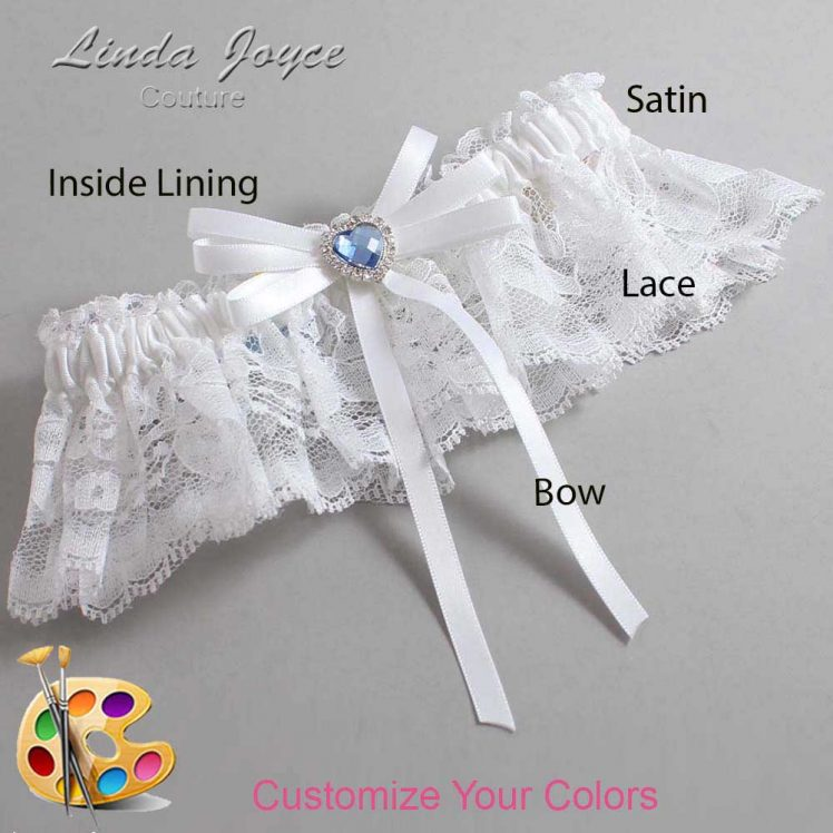 Couture Garters / Custom Wedding Garter / Customizable Wedding Garters / Personalized Wedding Garters / Dora #10-B11-M25 / Wedding Garters / Bridal Garter / Prom Garter / Linda Joyce Couture