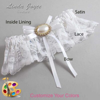 Couture Garters / Custom Wedding Garter / Customizable Wedding Garters / Personalized Wedding Garters / Emma #10-B11-M28 / Wedding Garters / Bridal Garter / Prom Garter / Linda Joyce Couture