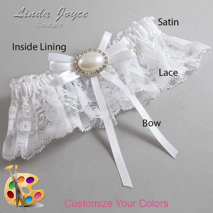 Couture Garters / Custom Wedding Garter / Customizable Wedding Garters / Personalized Wedding Garters / Emma #10-B11-M30 / Wedding Garters / Bridal Garter / Prom Garter / Linda Joyce Couture