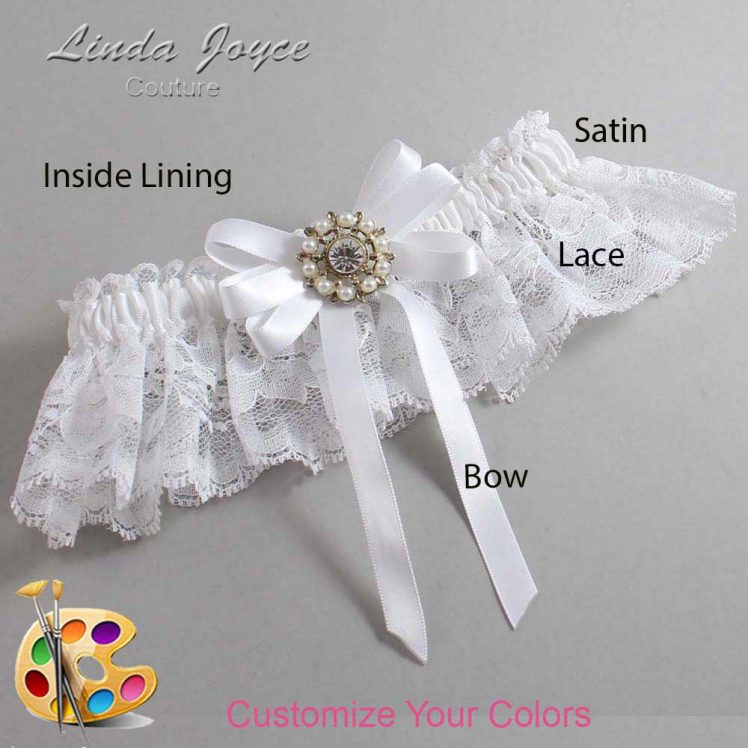 Couture Garters / Custom Wedding Garter / Customizable Wedding Garters / Personalized Wedding Garters / Robin #10-B12-M14 / Wedding Garters / Bridal Garter / Prom Garter / Linda Joyce Couture