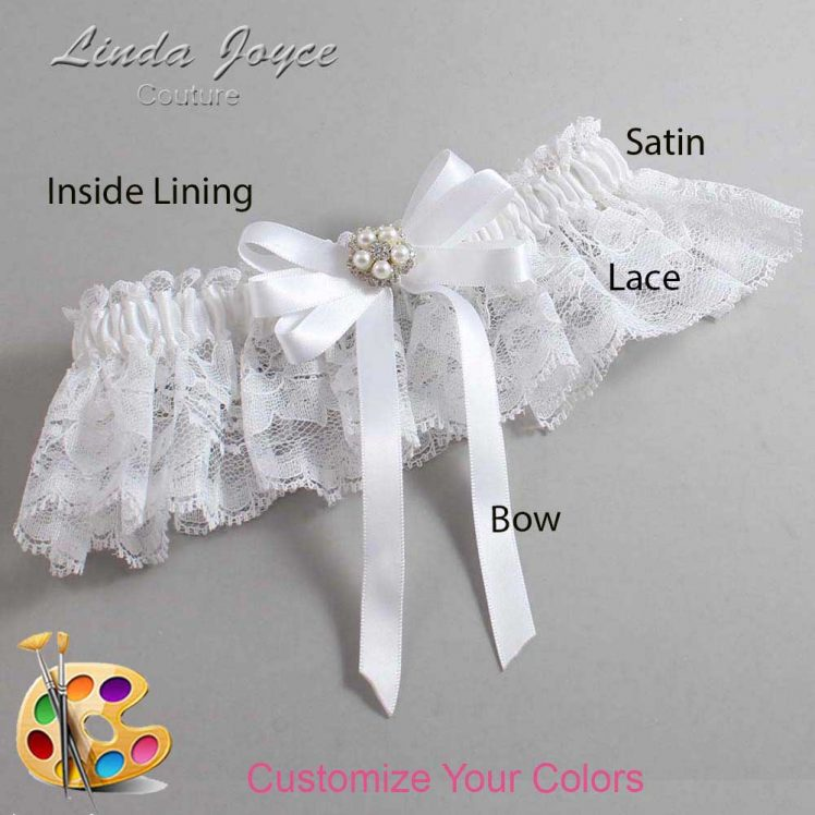 Couture Garters / Custom Wedding Garter / Customizable Wedding Garters / Personalized Wedding Garters / Candice #10-B12-M20 / Wedding Garters / Bridal Garter / Prom Garter / Linda Joyce Couture