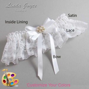 Couture Garters / Custom Wedding Garter / Customizable Wedding Garters / Personalized Wedding Garters / Savanah #10-B12-M27 / Wedding Garters / Bridal Garter / Prom Garter / Linda Joyce Couture
