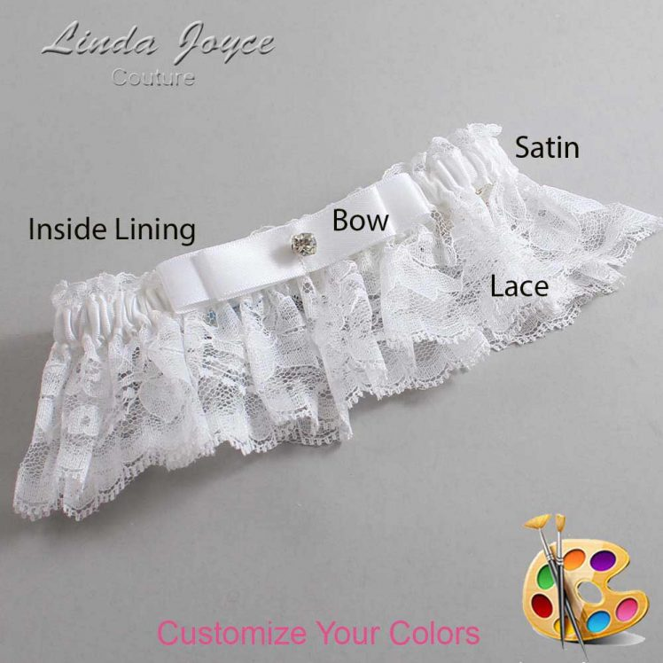 Couture Garters / Custom Wedding Garter / Customizable Wedding Garters / Personalized Wedding Garters / Lana #10-B20-M04 / Wedding Garters / Bridal Garter / Prom Garter / Linda Joyce Couture