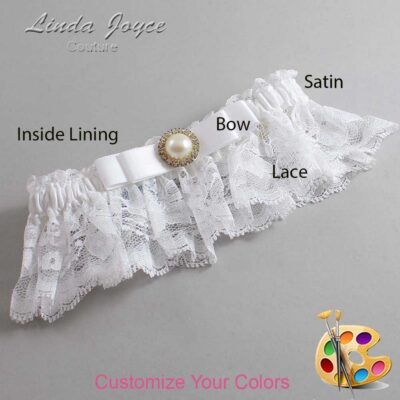 Couture Garters / Custom Wedding Garter / Customizable Wedding Garters / Personalized Wedding Garters / Jade #10-B20-M21 / Wedding Garters / Bridal Garter / Prom Garter / Linda Joyce Couture