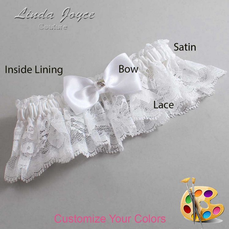 Couture Garters / Custom Wedding Garter / Customizable Wedding Garters / Personalized Wedding Garters / Jodi #10-B29-M04 / Wedding Garters / Bridal Garter / Prom Garter / Linda Joyce Couture
