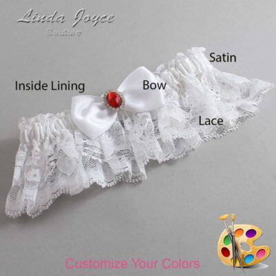 Couture Garters / Custom Wedding Garter / Customizable Wedding Garters / Personalized Wedding Garters / Gayla #10-B31-M26 / Wedding Garters / Bridal Garter / Prom Garter / Linda Joyce Couture