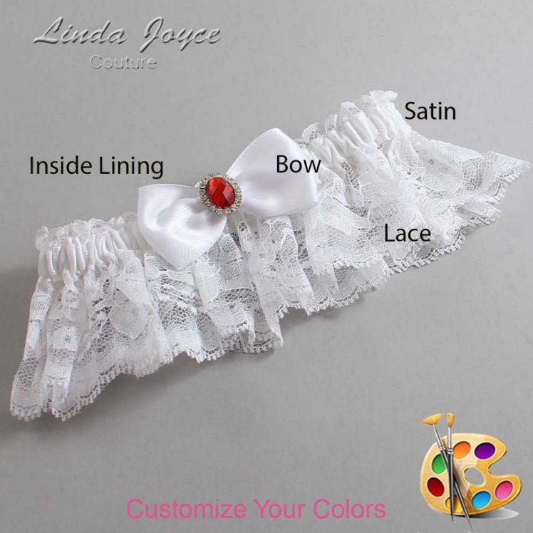 Couture Garters / Custom Wedding Garter / Customizable Wedding Garters / Personalized Wedding Garters / Gayla #10-B31-M26 / Wedding Garters / Bridal Garter / Prom Garter / Linda Joyce Couture