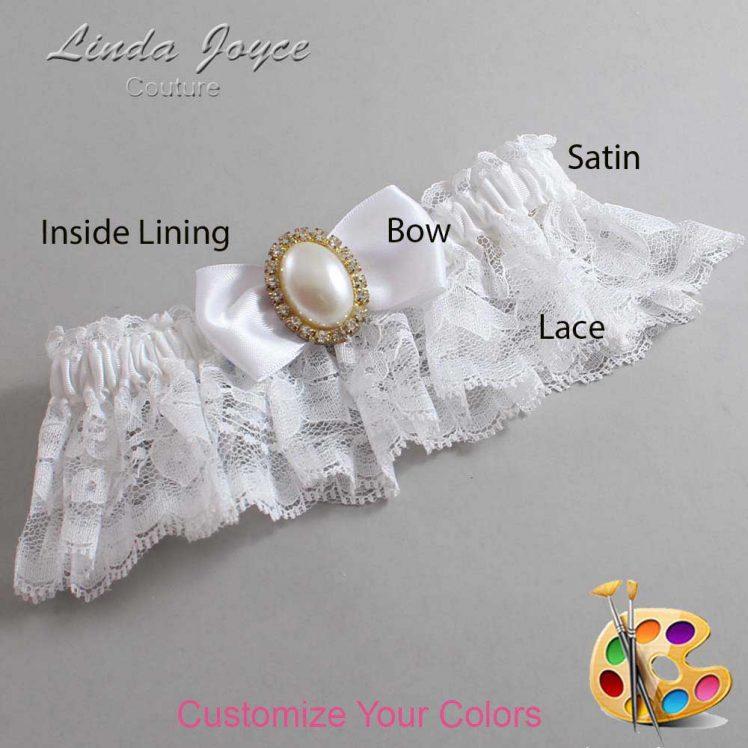 Couture Garters / Custom Wedding Garter / Customizable Wedding Garters / Personalized Wedding Garters / Mindy #10-B31-M29 / Wedding Garters / Bridal Garter / Prom Garter / Linda Joyce Couture