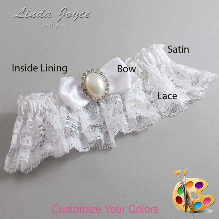 Couture Garters / Custom Wedding Garter / Customizable Wedding Garters / Personalized Wedding Garters / Mindy #10-B31-M31 / Wedding Garters / Bridal Garter / Prom Garter / Linda Joyce Couture
