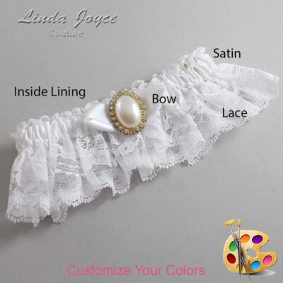 Couture Garters / Custom Wedding Garter / Customizable Wedding Garters / Personalized Wedding Garters / Sonya #10-B41-M29 / Wedding Garters / Bridal Garter / Prom Garter / Linda Joyce Couture