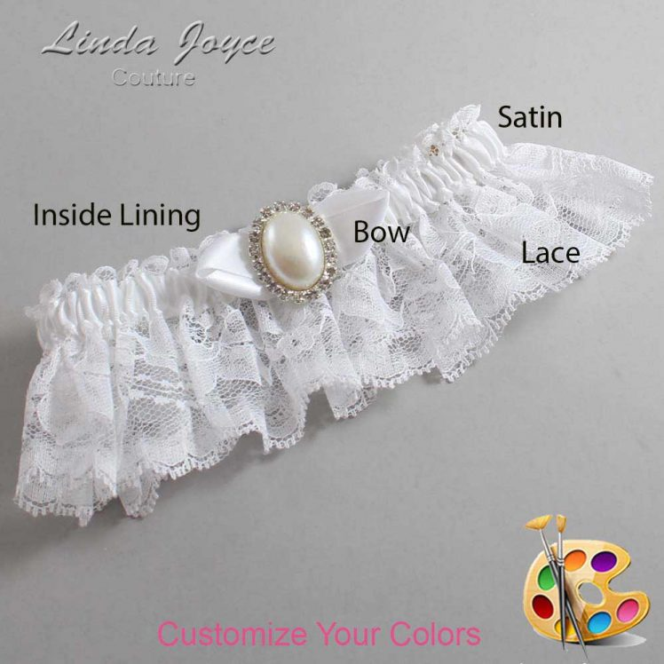 Couture Garters / Custom Wedding Garter / Customizable Wedding Garters / Personalized Wedding Garters / Sonya #10-B41-M31 / Wedding Garters / Bridal Garter / Prom Garter / Linda Joyce Couture