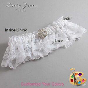 Couture Garters / Custom Wedding Garter / Customizable Wedding Garters / Personalized Wedding Garters / Belle #10-M11 / Wedding Garters / Bridal Garter / Prom Garter / Linda Joyce Couture