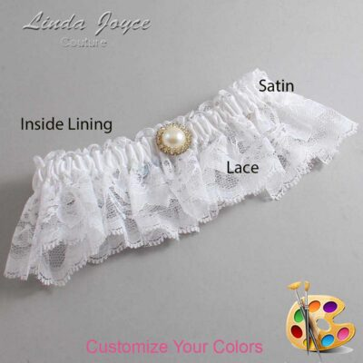 Couture Garters / Custom Wedding Garter / Customizable Wedding Garters / Personalized Wedding Garters / Dana #10-M21 / Wedding Garters / Bridal Garter / Prom Garter / Linda Joyce Couture