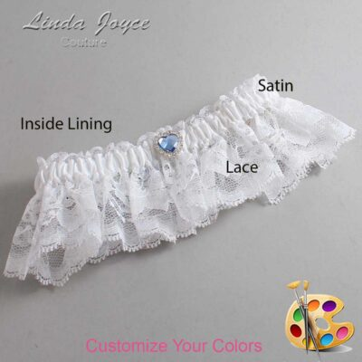 Couture Garters / Custom Wedding Garter / Customizable Wedding Garters / Personalized Wedding Garters / Lovie #10-M25 / Wedding Garters / Bridal Garter / Prom Garter / Linda Joyce Couture