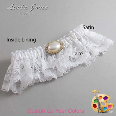 Couture Garters / Custom Wedding Garter / Customizable Wedding Garters / Personalized Wedding Garters / Jane #10-M28 / Wedding Garters / Bridal Garter / Prom Garter / Linda Joyce Couture