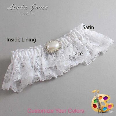 Couture Garters / Custom Wedding Garter / Customizable Wedding Garters / Personalized Wedding Garters / Jane #10-M30 / Wedding Garters / Bridal Garter / Prom Garter / Linda Joyce Couture