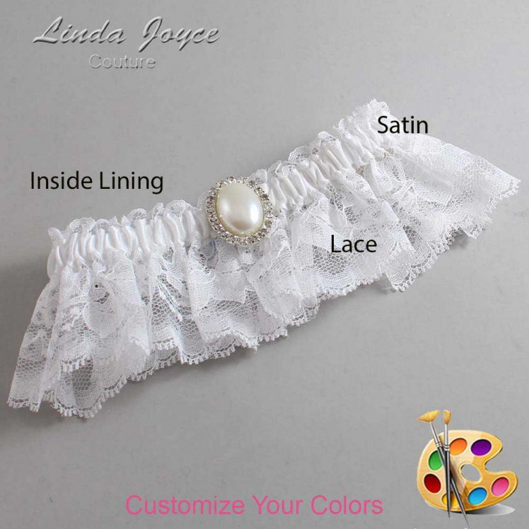Couture Garters / Custom Wedding Garter / Customizable Wedding Garters / Personalized Wedding Garters / Halle #10-M31 / Wedding Garters / Bridal Garter / Prom Garter / Linda Joyce Couture