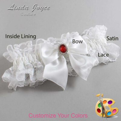 Couture Garters / Custom Wedding Garter / Customizable Wedding Garters / Personalized Wedding Garters / Danita #11-B01-M26 / Wedding Garters / Bridal Garter / Prom Garter / Linda Joyce Couture