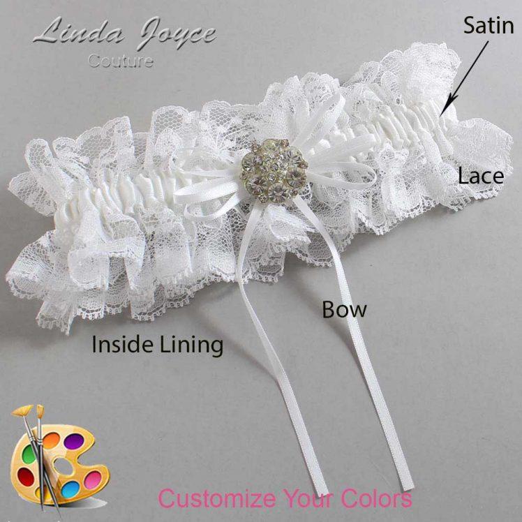 Couture Garters / Custom Wedding Garter / Customizable Wedding Garters / Personalized Wedding Garters / Amber #11-B10-M11 / Wedding Garters / Bridal Garter / Prom Garter / Linda Joyce Couture