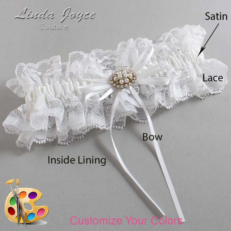 Couture Garters / Custom Wedding Garter / Customizable Wedding Garters / Personalized Wedding Garters / Belinda #11-B10-M16 / Wedding Garters / Bridal Garter / Prom Garter / Linda Joyce Couture