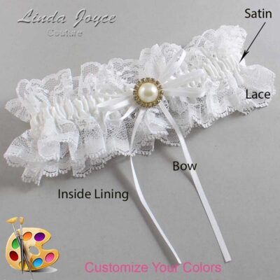 Couture Garters / Custom Wedding Garter / Customizable Wedding Garters / Personalized Wedding Garters / Faith #11-B10-M21 / Wedding Garters / Bridal Garter / Prom Garter / Linda Joyce Couture
