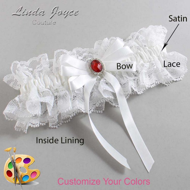 Couture Garters / Custom Wedding Garter / Customizable Wedding Garters / Personalized Wedding Garters / Roxanne #11-B12-M26 / Wedding Garters / Bridal Garter / Prom Garter / Linda Joyce Couture