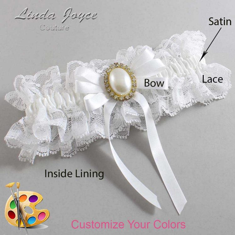 Couture Garters / Custom Wedding Garter / Customizable Wedding Garters / Personalized Wedding Garters / Zoe #11-B12-M29 / Wedding Garters / Bridal Garter / Prom Garter / Linda Joyce Couture