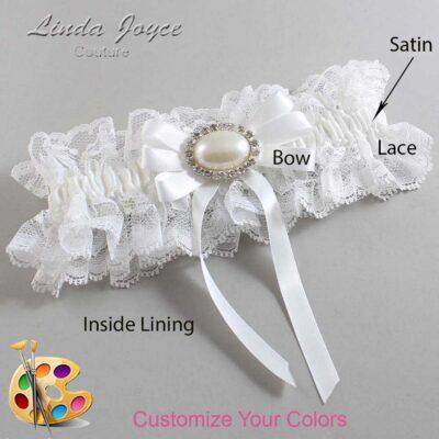 Couture Garters / Custom Wedding Garter / Customizable Wedding Garters / Personalized Wedding Garters / Velma #11-B12-M30 / Wedding Garters / Bridal Garter / Prom Garter / Linda Joyce Couture