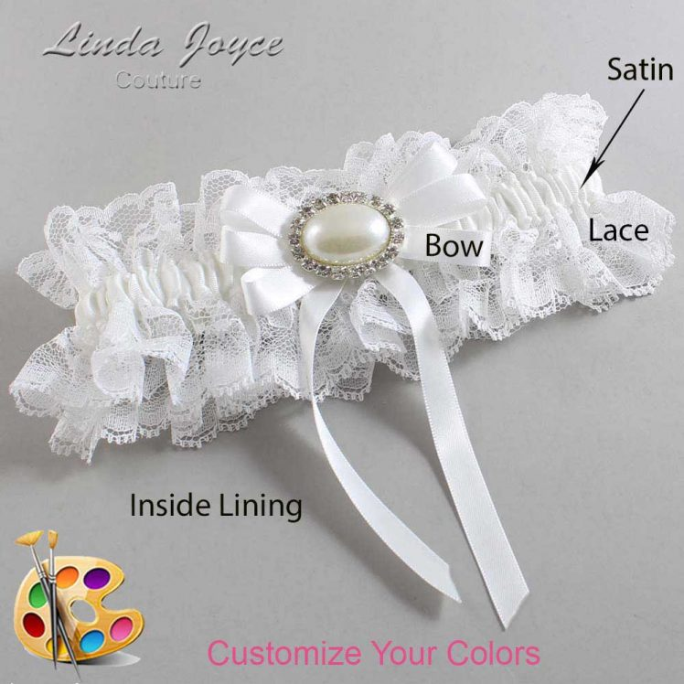 Couture Garters / Custom Wedding Garter / Customizable Wedding Garters / Personalized Wedding Garters / Velma #11-B12-M30 / Wedding Garters / Bridal Garter / Prom Garter / Linda Joyce Couture