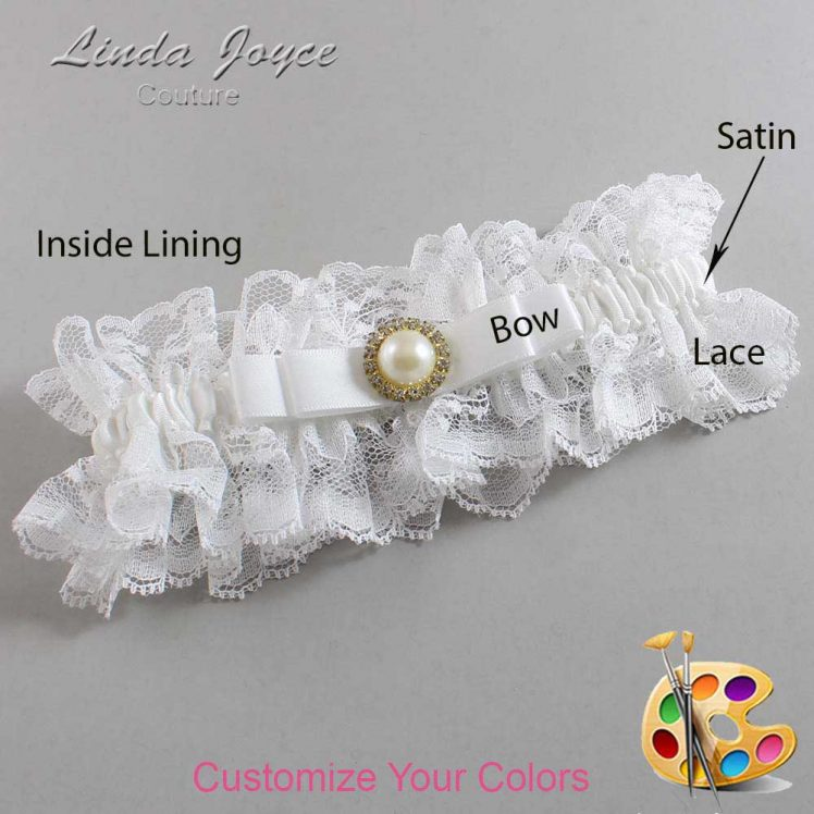 Couture Garters / Custom Wedding Garter / Customizable Wedding Garters / Personalized Wedding Garters / Jade #11-B20-M21 / Wedding Garters / Bridal Garter / Prom Garter / Linda Joyce Couture