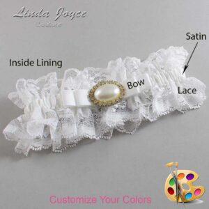 Couture Garters / Custom Wedding Garter / Customizable Wedding Garters / Personalized Wedding Garters / Martha #11-B20-M28 / Wedding Garters / Bridal Garter / Prom Garter / Linda Joyce Couture