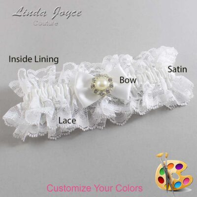 Couture Garters / Custom Wedding Garter / Customizable Wedding Garters / Personalized Wedding Garters / Ashlynn #11-B21-M24 / Wedding Garters / Bridal Garter / Prom Garter / Linda Joyce Couture
