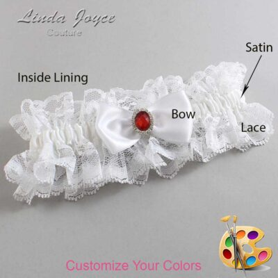 Couture Garters / Custom Wedding Garter / Customizable Wedding Garters / Personalized Wedding Garters / Gayla #11-B31-M26 / Wedding Garters / Bridal Garter / Prom Garter / Linda Joyce Couture